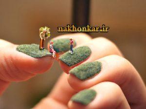 ضد قارچ ناخن - پرایمر ناخن - آموزش کاشت ناخن